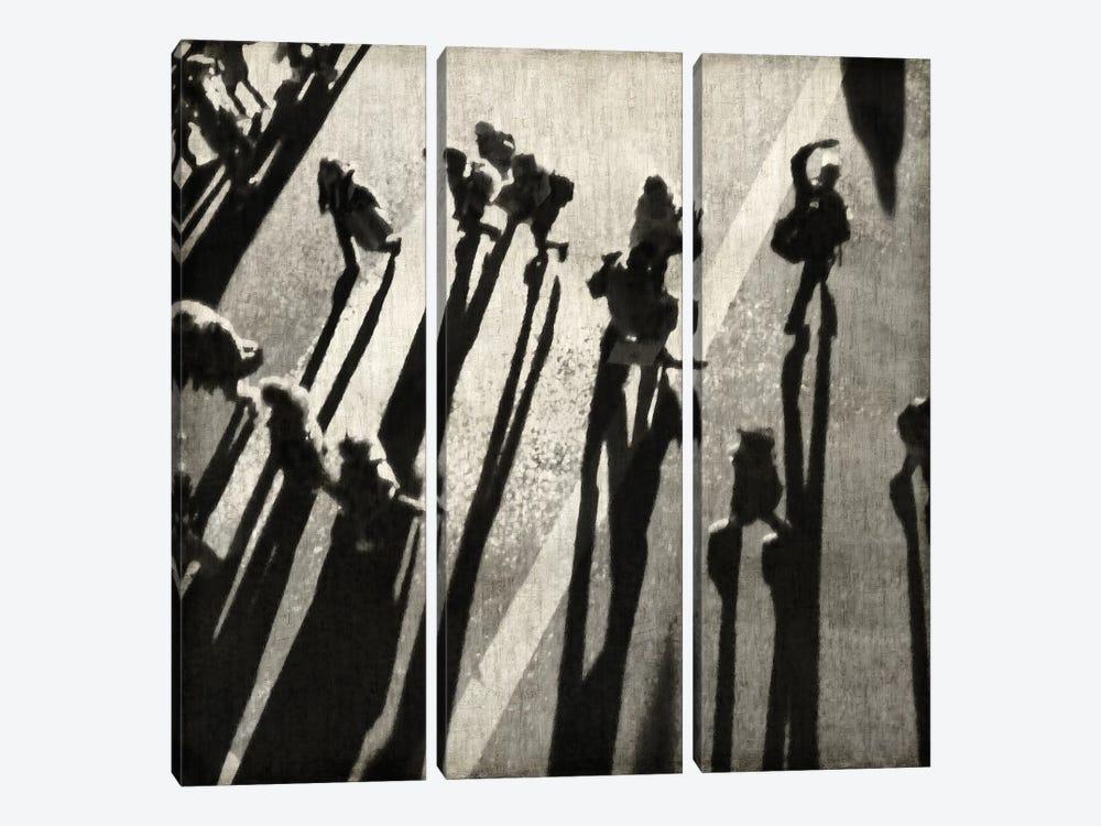 Pedestrian II by Paul English 3-piece Canvas Print