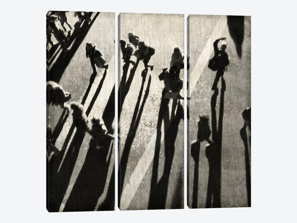 Pedestrian II by Paul English 3-piece Canvas Print