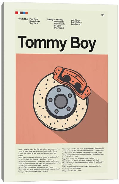 Tommy Boy Canvas Art Print
