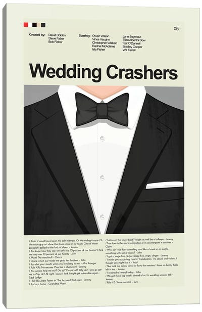 Wedding Crashers Canvas Art Print