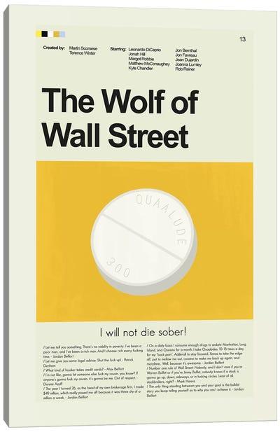 Wolf Of Wall Street Canvas Art Print