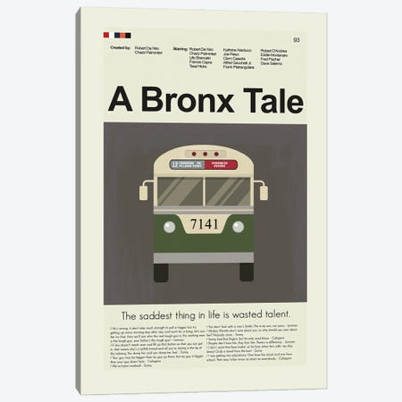 A Bronx Tale Canvas Print #PAG120} by Prints and Giggles by Erin Hagerman Canvas Art