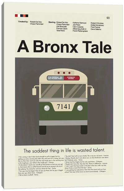 A Bronx Tale Canvas Art Print