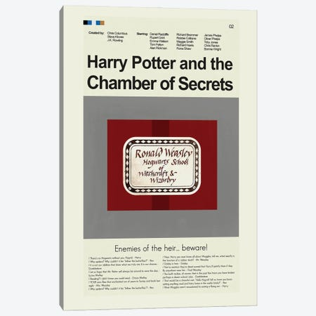 Chamber Of Secrets Canvas Print #PAG126} by Prints and Giggles by Erin Hagerman Canvas Art Print