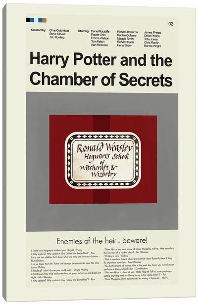 Chamber Of Secrets Canvas Art Print