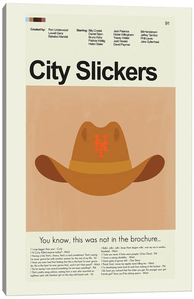 City Slickers Canvas Art Print