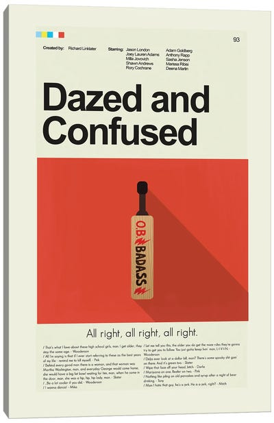 Dazed And Confused Canvas Art Print