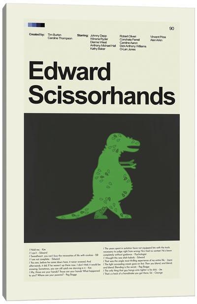 Edward Scissorhands Canvas Art Print