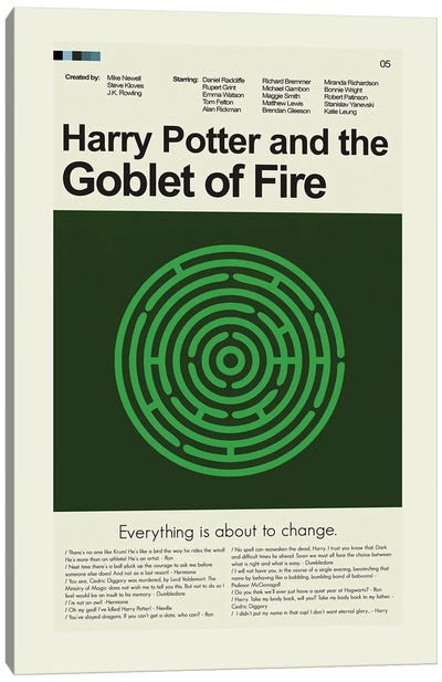 Harry Potter And The Goblet Of Fire Canvas Art Print