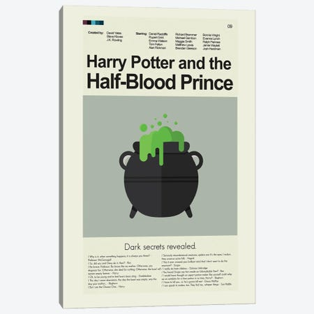 Harry Potter And The Half-Blood Prince Canvas Print #PAG137} by Prints and Giggles by Erin Hagerman Canvas Artwork