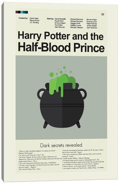 Harry Potter And The Half-Blood Prince Canvas Art Print