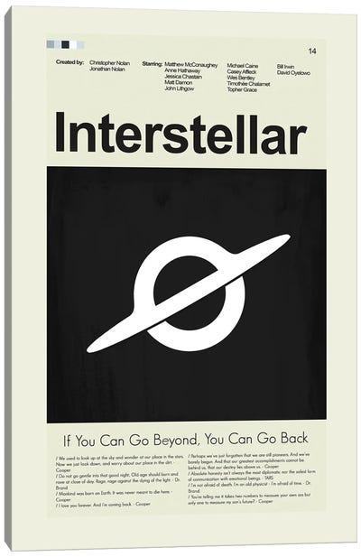Interstellar Canvas Art Print