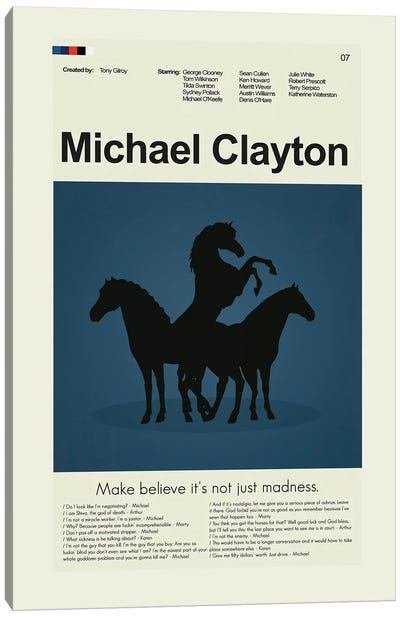 Michael Clayton Canvas Art Print