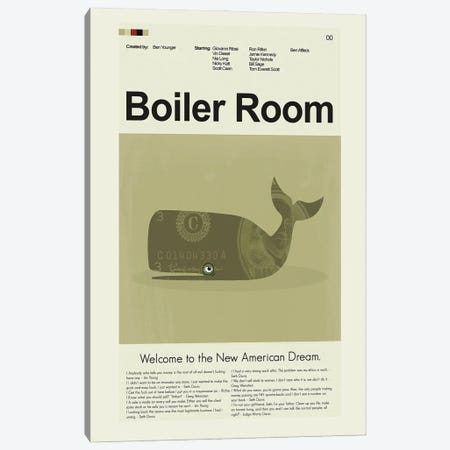Boiler Room Canvas Print #PAG154} by Prints and Giggles by Erin Hagerman Canvas Artwork