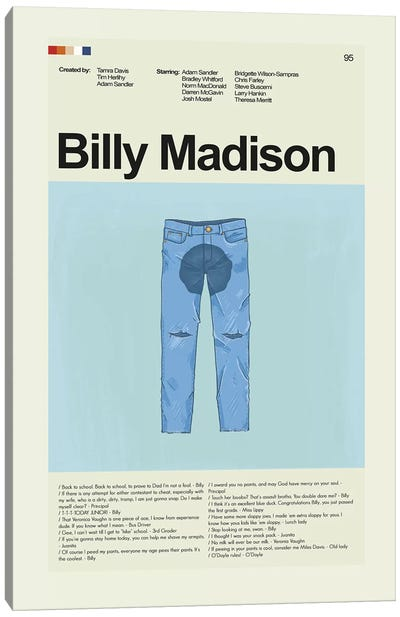 Billy Madison Canvas Art Print