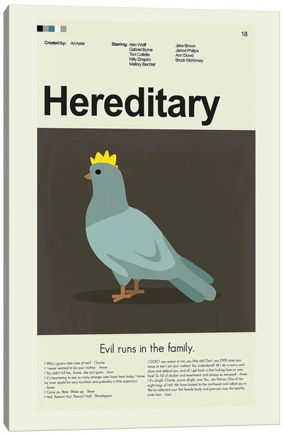 Hereditary Canvas Art Print