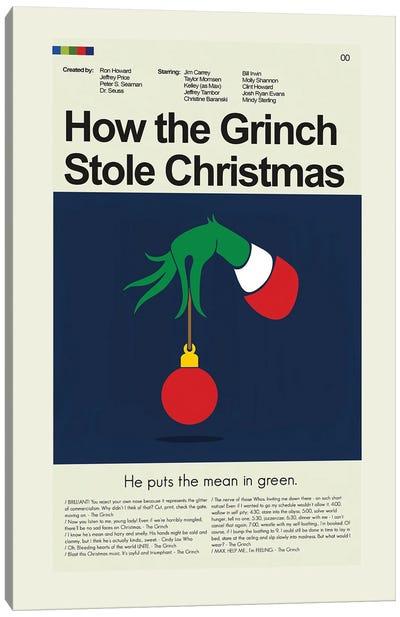 How the Grinch Stole Christmas Canvas Art Print
