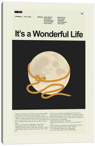 It's a Wonderful Life Canvas Art Print