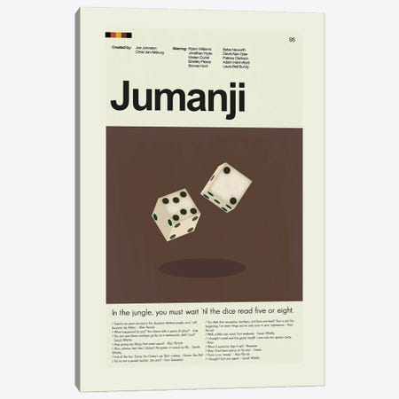 Jumanji Canvas Print #PAG185} by Prints and Giggles by Erin Hagerman Canvas Print