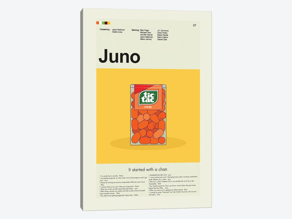 Juno by Prints and Giggles by Erin Hagerman 1-piece Art Print