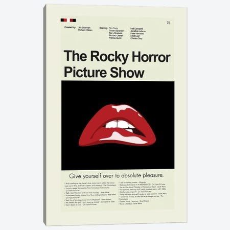 Rocky Horror Picture Show Canvas Print #PAG208} by Prints and Giggles by Erin Hagerman Canvas Print