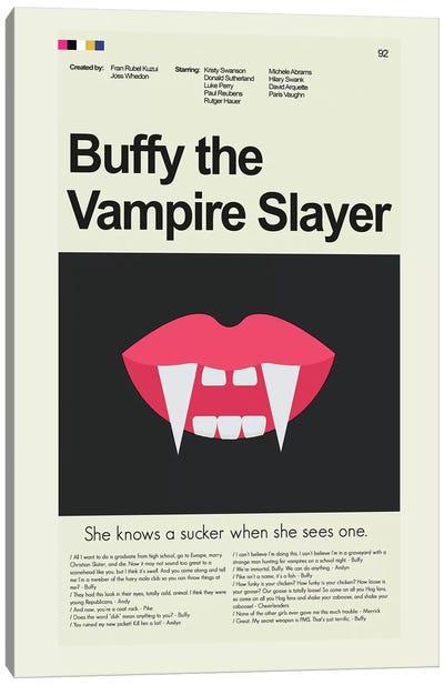 Buffy The Vampire Slayer Canvas Art Print