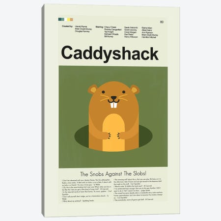 Caddyshack Canvas Print #PAG21} by Prints and Giggles by Erin Hagerman Art Print