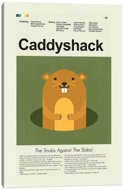 Caddyshack Canvas Art Print