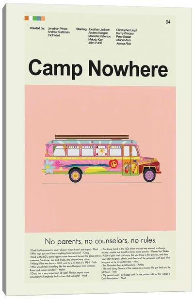 Camp Nowhere Canvas Art Print