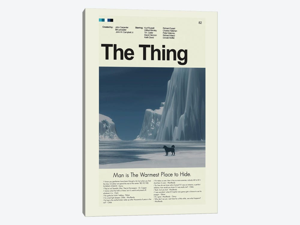 The Thing by Prints and Giggles by Erin Hagerman 1-piece Canvas Art Print