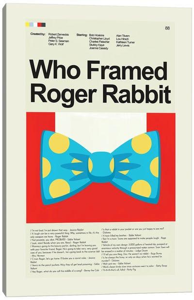 Who Framed Roger Rabbit Canvas Art Print
