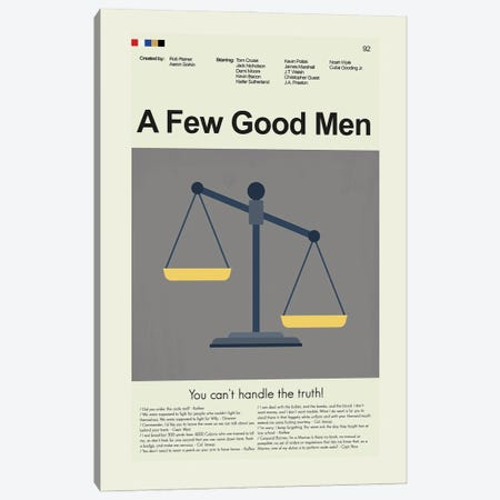 A Few Good Men Canvas Print #PAG253} by Prints and Giggles by Erin Hagerman Canvas Art