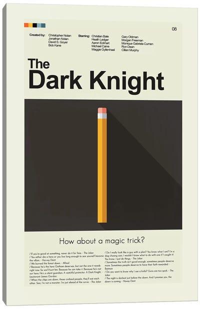 Dark Knight Canvas Art Print