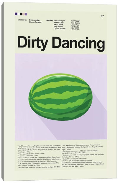 Dirty Dancing Canvas Art Print