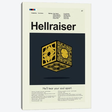 Hellraiser Canvas Print #PAG297} by Prints and Giggles by Erin Hagerman Canvas Print