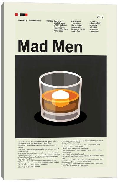 Mad Men Canvas Art Print
