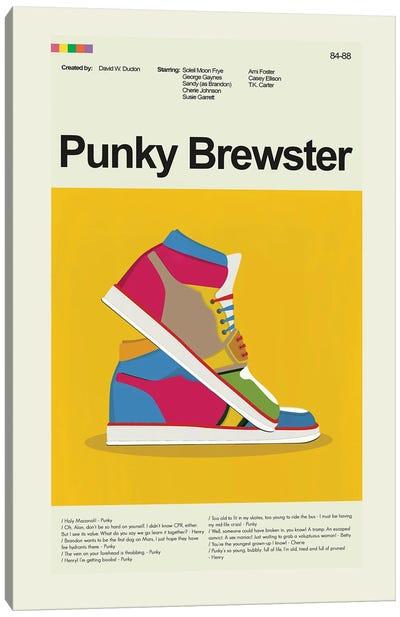 Punky Brewster Canvas Art Print