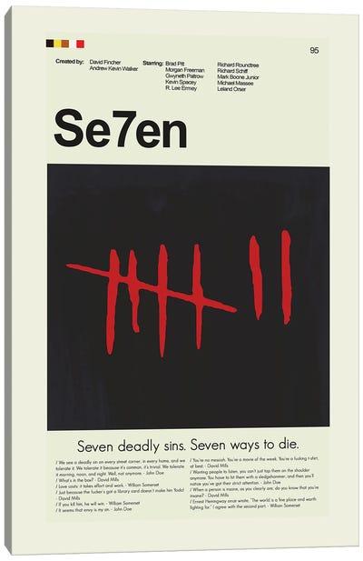 Se7en Canvas Art Print