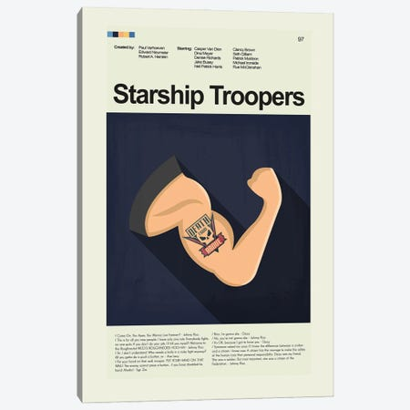 Starship Troopers Canvas Print #PAG341} by Prints and Giggles by Erin Hagerman Canvas Wall Art