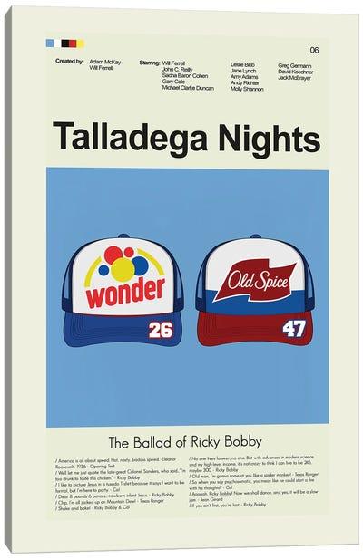 Talladega Nights: The Ballad of Ricky Bobby Canvas Art Print