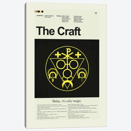 The Craft Canvas Print #PAG347} by Prints and Giggles by Erin Hagerman Art Print