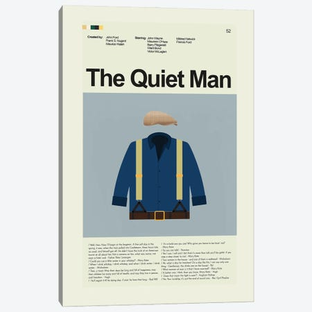 The Quiet Man Canvas Print #PAG356} by Prints and Giggles by Erin Hagerman Canvas Art
