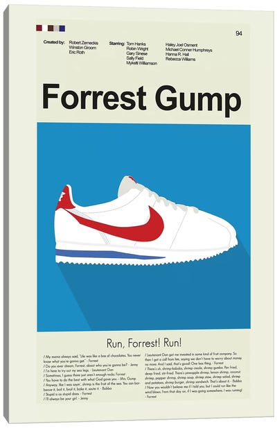 Forrest Gump Canvas Art Print