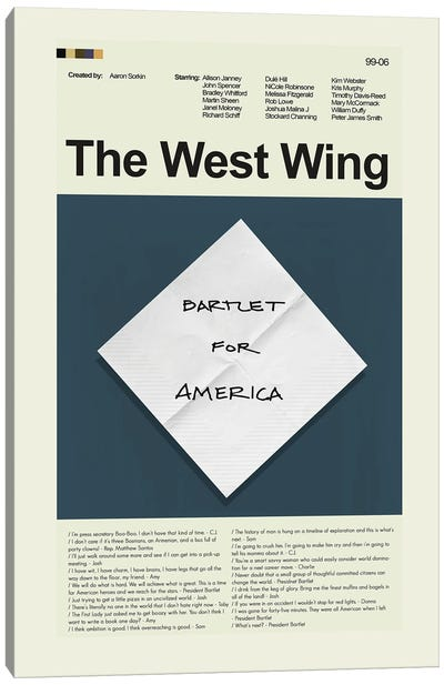 The West Wing Canvas Art Print