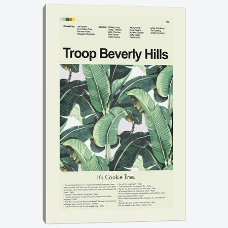Troop Beverly Hills Canvas Print #PAG364} by Prints and Giggles by Erin Hagerman Canvas Print