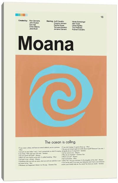 Moana Canvas Art Print