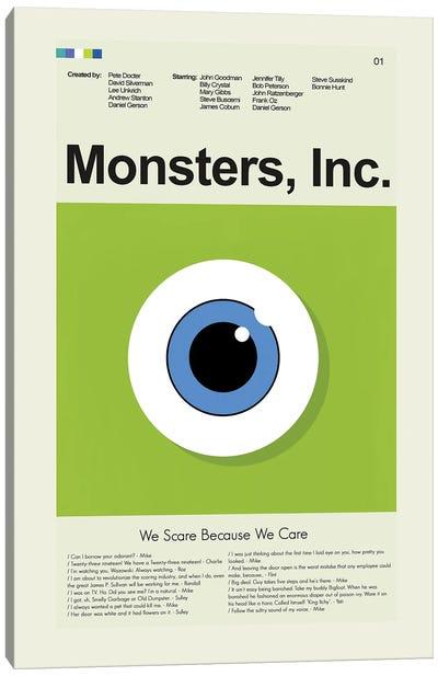 Monsters, Inc. Canvas Art Print