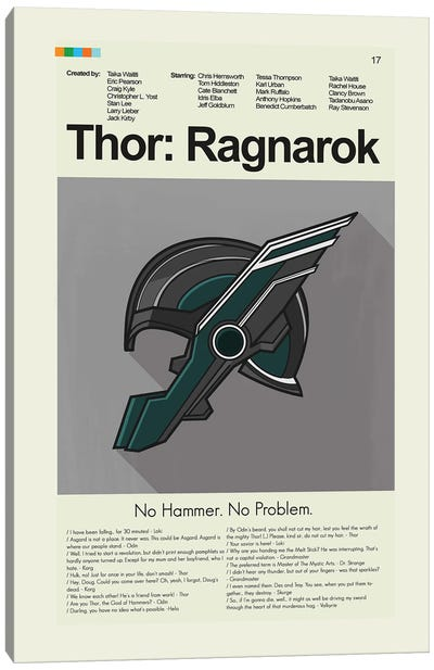 Thor: Ragnarok Canvas Art Print