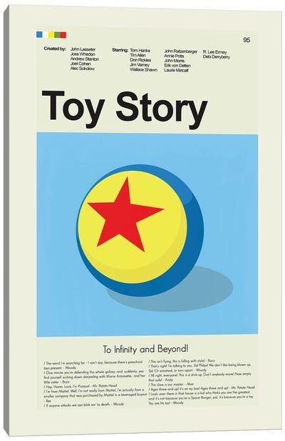 Toy Story Canvas Art Print