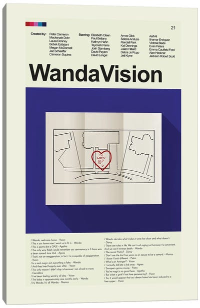 WandaVision Canvas Art Print